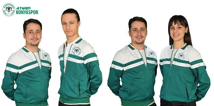İki sporcumuz ve takım antrenörümüz Eskrim Milli Takımda