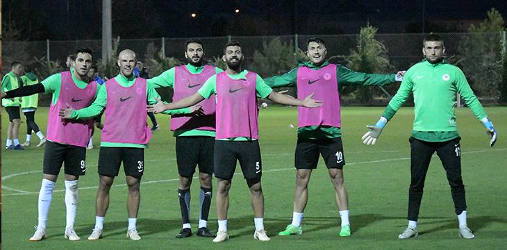 Takımımızda MKE Ankaragücü maçının hazırlıkları başladı