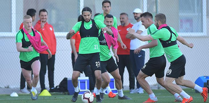 Takımımız Kasımpaşa maçı hazırlıklarına devam etti