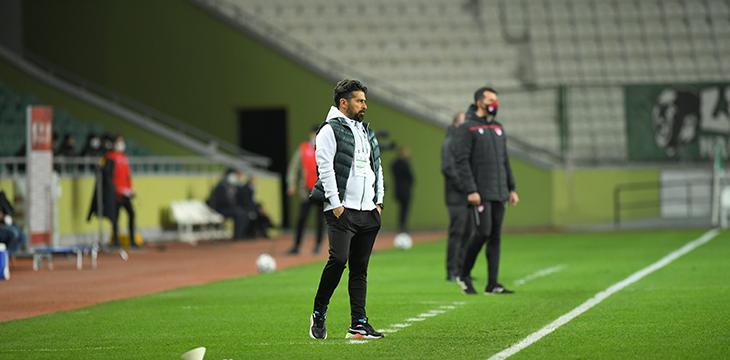 Teknik Direktörümüz İlhan Palut Beşiktaş Maçı Sonrası Açıklamalarda Bulundu