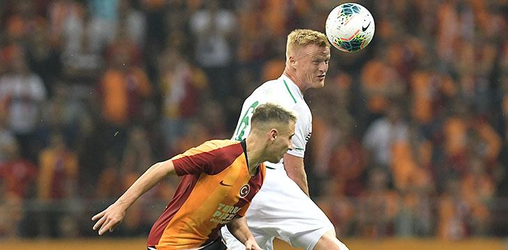 Konyaspor'umuz Galatasaray deplasmanından 1 puanla dönüyor