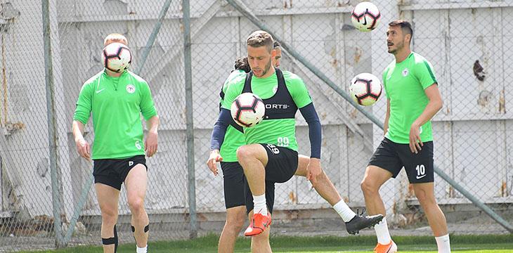 Atiker Konyaspor'umuz A.Alanyaspor maçı hazırlıklarında sona geldi
