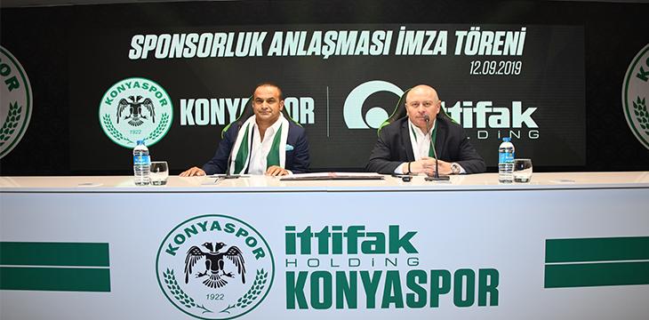 İttifak Holding ile isim sponsorluğu anlaşması imzaladık