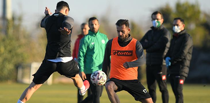 İttifak Holding Konyaspor'umuzda kupa ve lig maçı hazırlıkları başladı