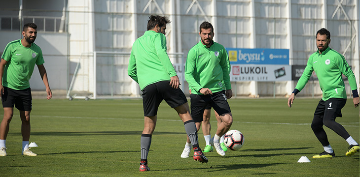 Takımımız DG Sivasspor maçının son çalışmasını yaptı
