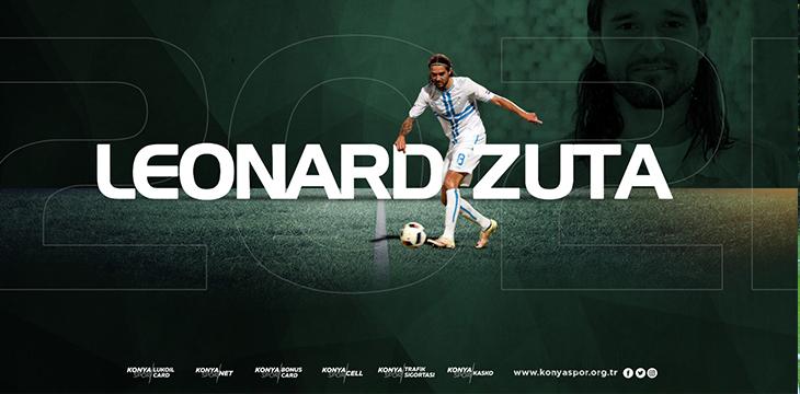 Atiker Konyaspor'umuz Leonard Zuta ile 2.5 yıllık sözleşme imzaladı