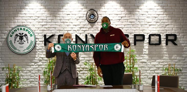 Robert Upshaw Büyükşehir Hastanesi Konyaspor'umuzda