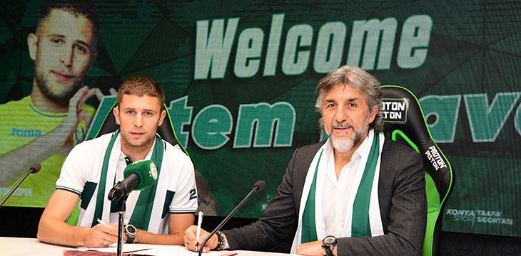 Artem Kravets İttifak Holding Konyaspor'umuzda