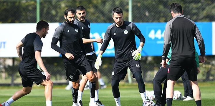 İttifak Holding Konyaspor'umuz DG Sivasspor maçı hazırlıklarına başladı