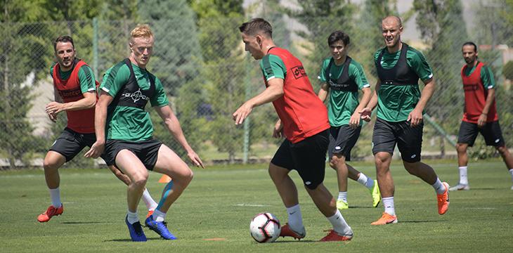 Takımımız yeni sezon hazırlıklarının Konya'daki ilk bölümünü tamamladı