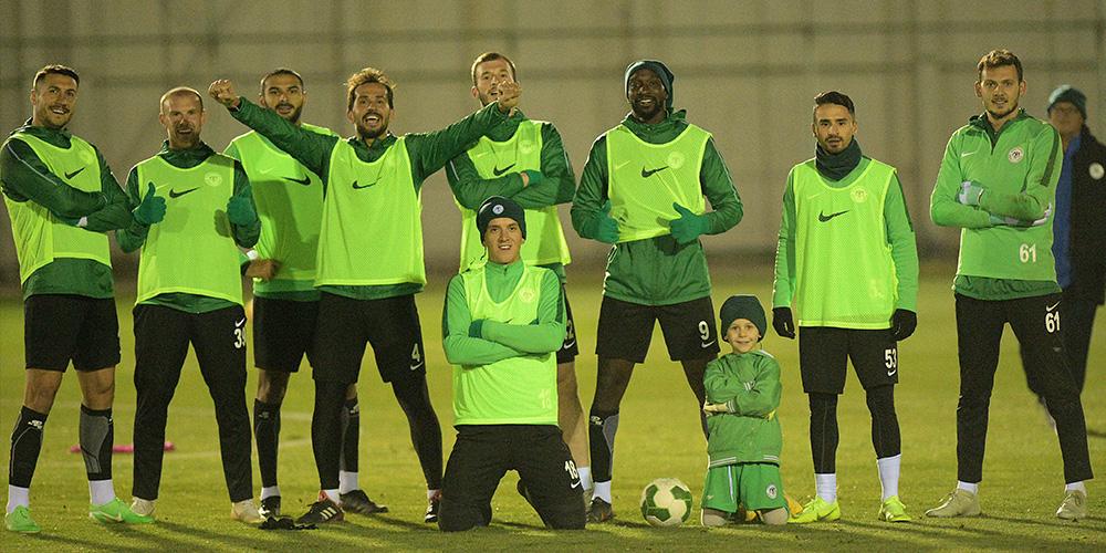 Atiker Konyaspor'umuzda Galatasaray maçı hazırlıkları başladı