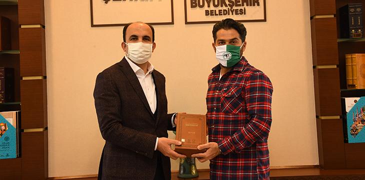 Büyükşehir Belediye Başkanımız Uğur İbrahim Altay'ı Ziyaret Ettik