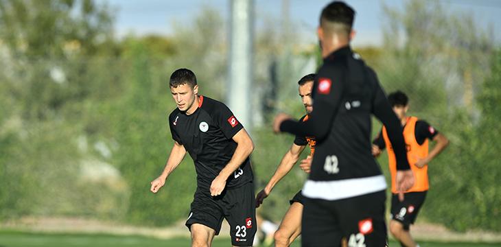 Takımımız yapılan antrenmanla Malatyaspor maçı hazırlıklarını sürdürdü
