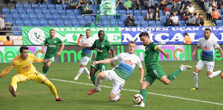 Atiker Konyaspor'umuz 26. hafta maçında Ç.Rizespor ile karşılaşacak