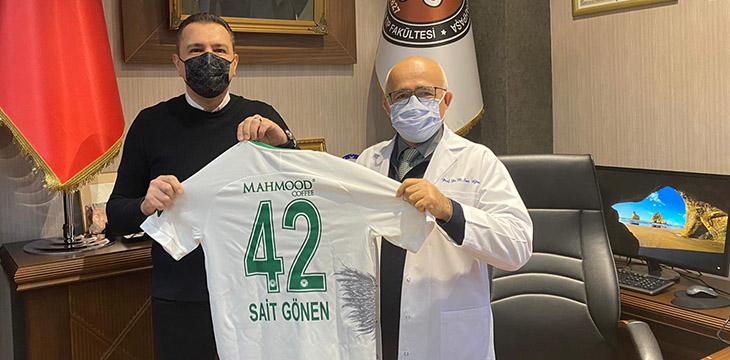 Eski Başkanlarımızdan Prof. Dr. Sait Gönen'i Ziyaret Ettik