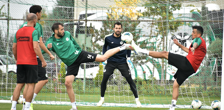 İttifak Holding Konyaspor'umuz Hazırlıklarına Devam Etti