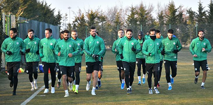İttifak Holding Konyaspor'umuzda MKE Ankaragücü maçı hazırlıkları başladı