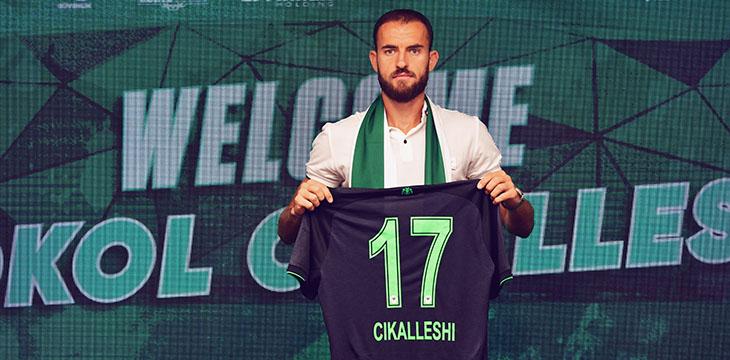 Sokol Cikalleshi İttifak Holding Konyaspor'umuzda