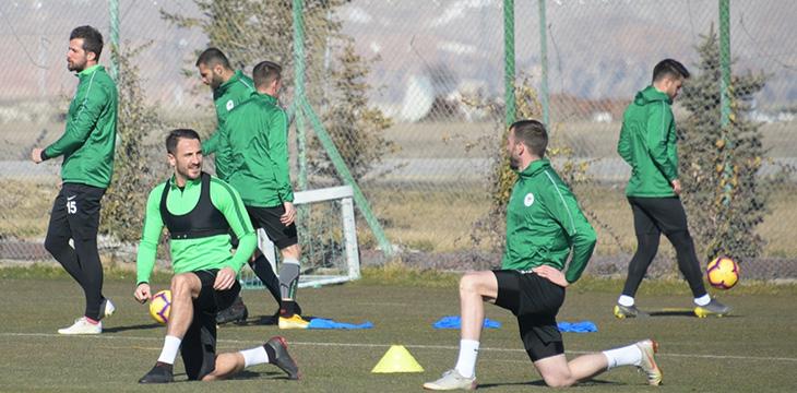 Takımımızda Bursaspor maçı hazırlıkları devam ediyor