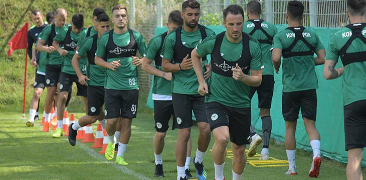 Konyaspor'umuzun Bolu birinci etap kampı devam ediyor