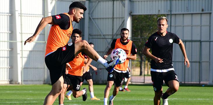 İttifak Holding Konyaspor'umuzda Beşiktaş maçı hazırlıkları devam ediyor