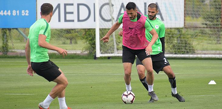 Atiker Konyaspor'umuzda Trabzonspor maçı hazırlıklarına devam edildi