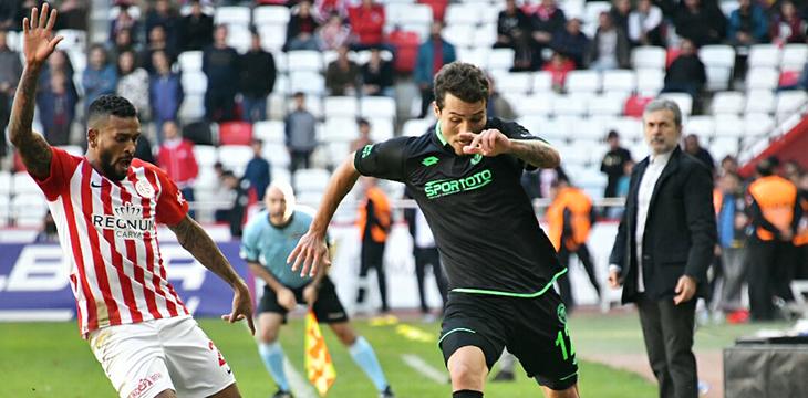 Takımımız Antalya deplasmanından 1 puanla dönüyor