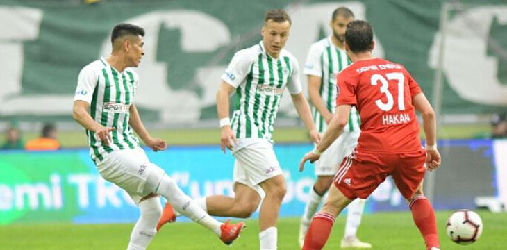 Atiker Konyaspor'umuz konuk ettiği DG Sivasspor ile 1-1 berabere kaldı