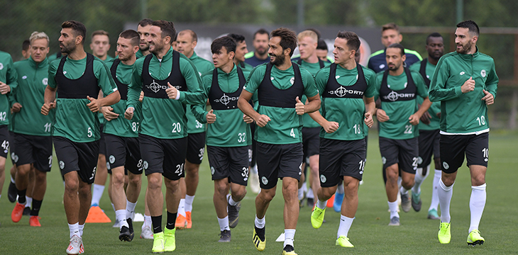 Konyaspor'umuzda Galatasaray maçı hazırlıkları devam etti