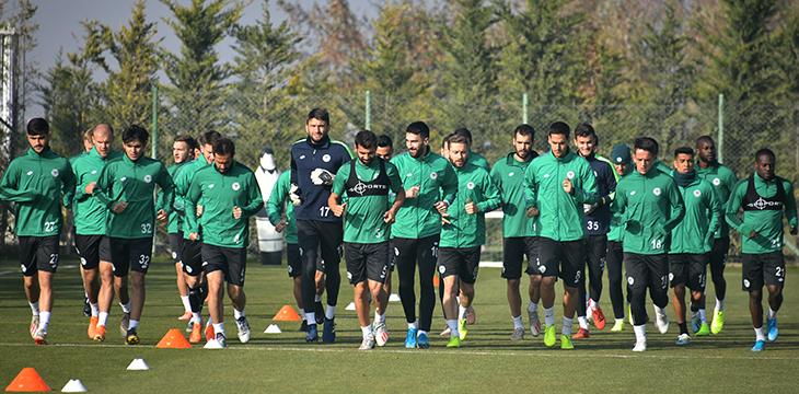 İttifak Holding Konyaspor'umuz Beşiktaş maçı hazırlıklarını sürdürdü