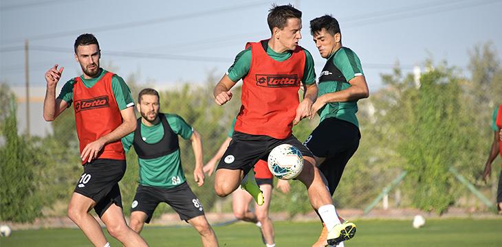 Konyaspor'umuz hazırlıklarını sürdürdü