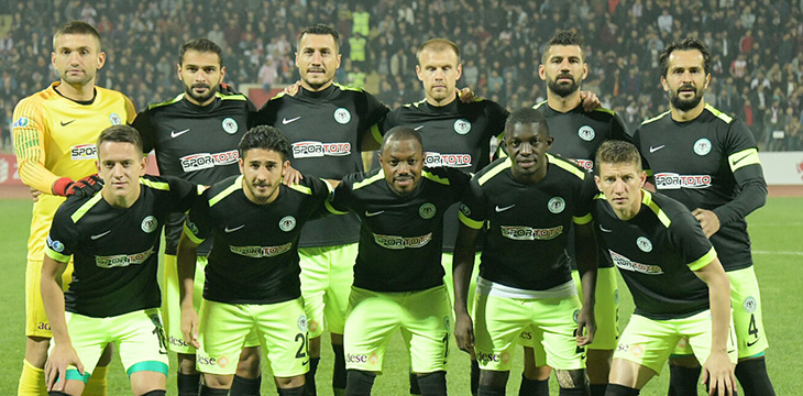 Atiker Konyaspor'umuz ZTK'na 4.Turda Veda Etti