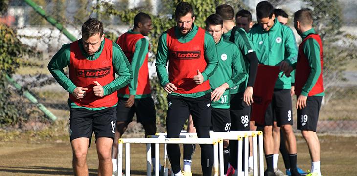 İttifak Holding Konyaspor'umuz Y. Denizlispor maçı hazırlıklarına başladı