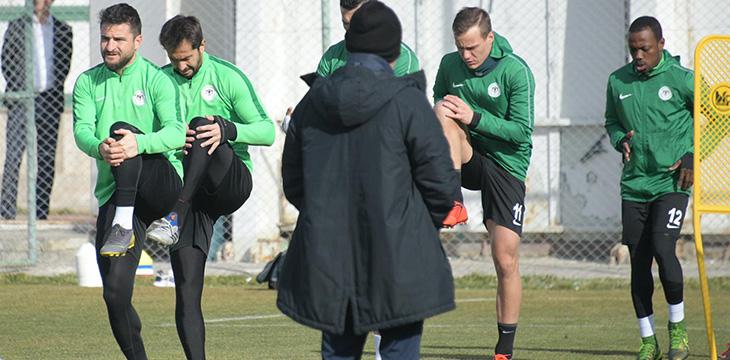 Atiker Konyaspor'umuzda Bursaspor maçı için geri sayım başladı