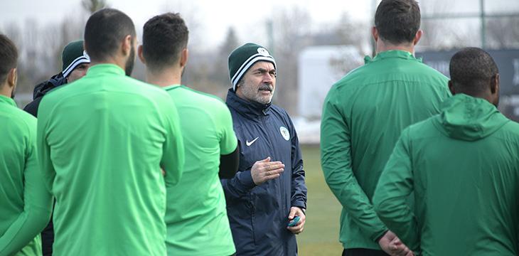 Takımımız yapılan antrenmanla Kayserispor maçı hazırlıklarını sürdürdü