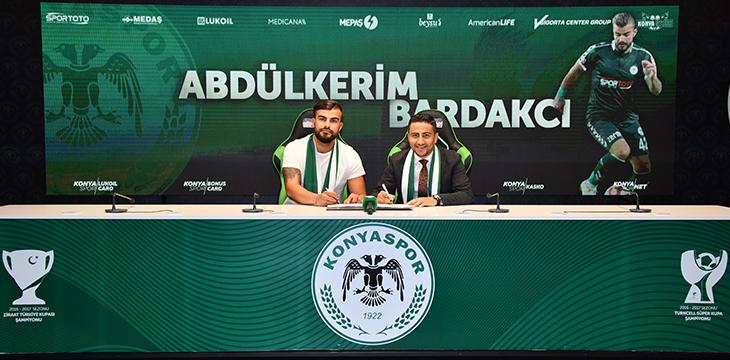 Abdülkerim Bardakcı'nın sözleşmesini uzattık