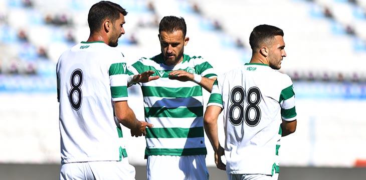 İttifak Holding Konyaspor'umuz ilk hazırlık maçını 2-1 kazandı
