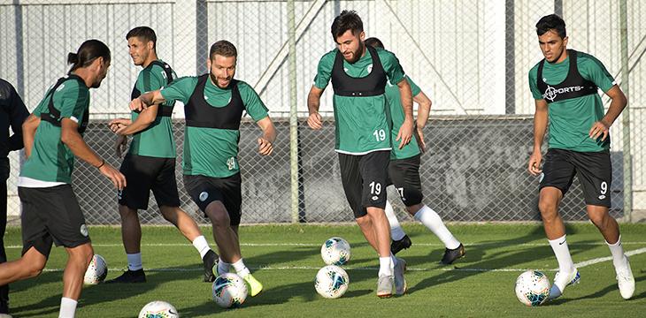 Konyaspor'umuz Denizlispor maçının hazırlıklarına devam etti
