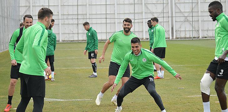 Atiker Konyaspor'umuzda Beşiktaş maçı hazırlıkları devam ediyor