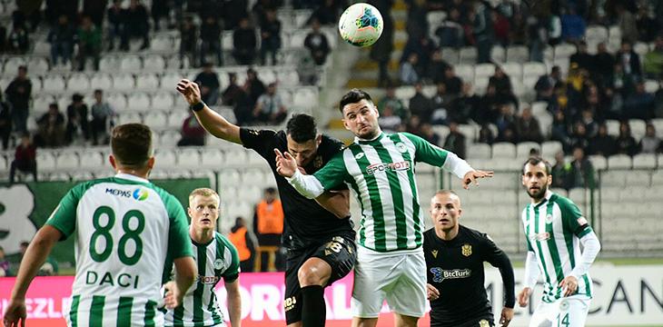 İttifak Holding Konyaspor'umuz haftayı 2-0'lık yenilgiyle kapattı