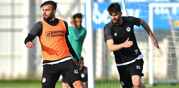 İttifak Holding Konyaspor'umuzda Göztepe maçı hazırlıkları başladı