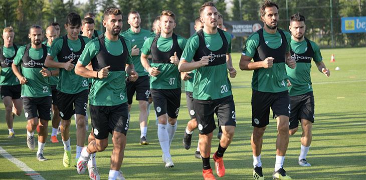 Konyaspor'umuz MKE Ankaragücü maçı hazırlıklarına yeniden başladı