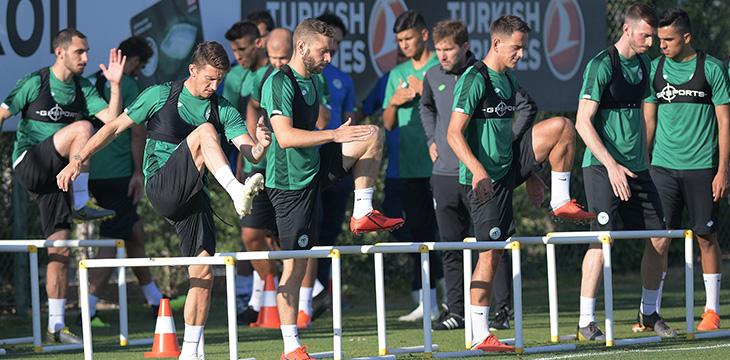 Konyaspor'umuz yeni sezon hazırlıklarında 3. günü geride bıraktı