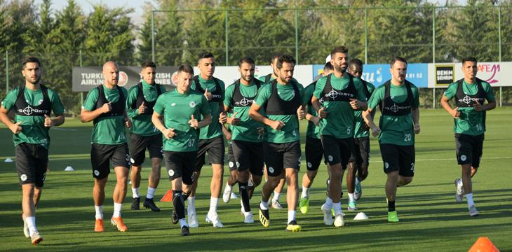 İttifak Holding Konyaspor'umuzda 3 Günlük İzin Sonrası Hazırlıklar Başladı