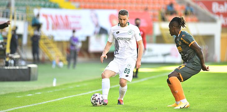A. Alanyaspor 1 – 0 İttifak Holding Konyaspor'umuz