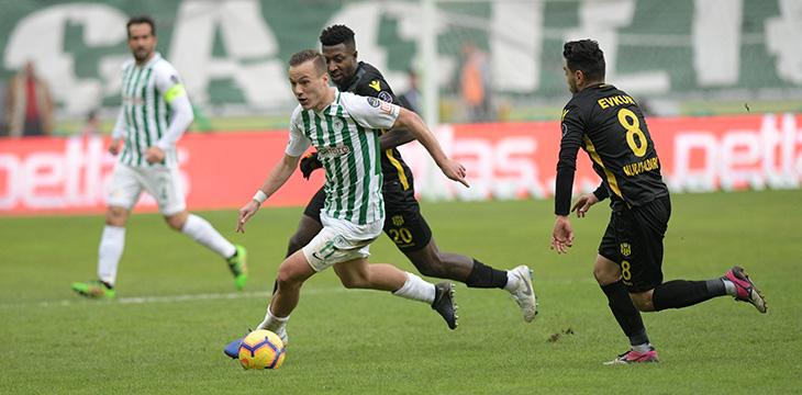 Atiker Konyaspor'umuz 21. hafta maçında E.Y. Malatyaspor ile 1-1 berabere kaldı