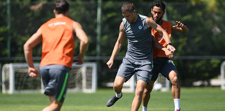 İttifak Holding Konyaspor'umuzda GZT Giresunspor maçı hazırlıkları başladı