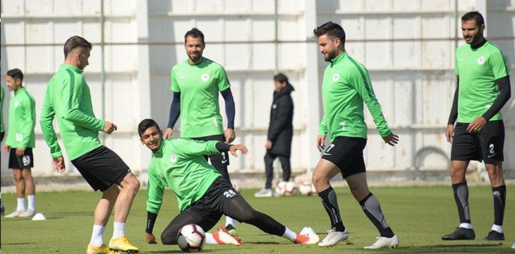 Atiker Konyaspor'umuzda Beşiktaş maçı hazırlıkları devam etti