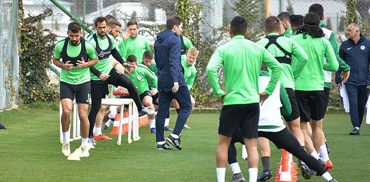 Atiker Konyaspor'umuz Ç.Rizespor maçı hazırlıklarına devam etti