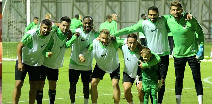 Atiker Konyaspor'umuzda Beşiktaş maçı hazırlıkları başladı
